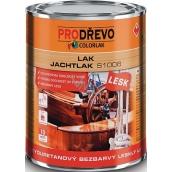 Colorlak Jachtlak Lesk S1006 alkyduretanový bezfarebný lesklý lak 0,6 l