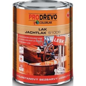 Colorlak Jachtlak Lesk S1006 alkyduretanový bezbarvý lesklý lak 0,6 l