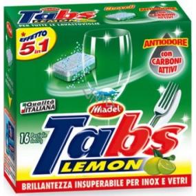 Tabs Lavastoviglie Lemon 5v1 multifunkčné tablety do umývačky 16 kusov