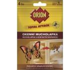 Orion Total Attack okenné mucholapka s kontaktnou návnadou 4 kusy