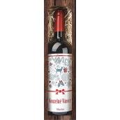 Bohemia Gifts Merlot Čarovné vianoce červenej darčekovej víno 750 ml