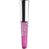 Miss Sporty Precious Shine 3D Lip Gloss lesk na pery 410 Bling Plum 7,4 ml