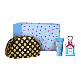 Moschino Funny! toaletná voda pre ženy 50 ml + telové mlieko 50 ml + kozmetická taška, darčeková sada