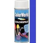Color Works Colorspray 918508 královsky modrý alkydový lak 400 ml