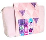 Fa Kids Teens Miss Clever sprchový gél 200 ml + Fa Pink Passion dezodorant sprej pre ženy 150 ml + Schauma Fresh It Up! šampón na vlasy 250 ml + etue, kozmetická sada
