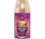 Glade Merry Berry & Bright automatický osviežovač vzduchu s vôňou merlotu, lesných plodov a korenia, náhradnú náplň sprej 269 ml