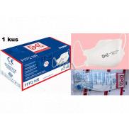 Respirátor ústnej ochranný 4-vrstvová FFP2 / KN95 tvárová maska 1 kus