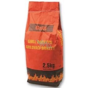 Grill Drevené brikety 2,5 kg
