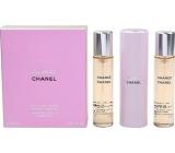 Chanel Chance toaletná voda komplet pre ženy 3 x 20 ml