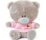 Me to You Tiny Tatty Teddy Medvídek v růžovém tričku 11,5 cm