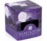 Heart & Home Tajomný spln Sójová vonná sviečka bez obalu horí až 15 hodín 53 g