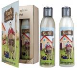 Bohemia Gifts & Cosmetics Kniha Rady kutilům sprchový gel 200 ml + olejová lázeň 200 ml, kosmetická sada