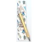 Nekupto Buď Jedinečná puzdro s perom Pierka 16 x 3,2 cm
