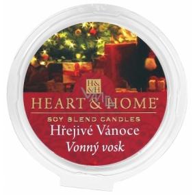 Heart & Home Hrejivé Vianoce Sójový prírodný voňavý vosk 27 g