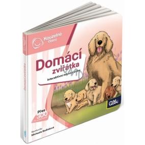 Albi Kúzelné čítanie interaktívne minikniha Domáce zvieratá
