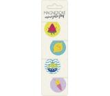 Albi Magnetické minizáložky - Ovocie priemer 3 cm