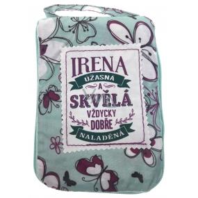 Albi Skladacia taška na zips do kabelky s menom Irena 42 x 41 x 11 cm