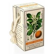 Somerset Toiletry Sladký pomaranč luxusné peelingové mydllá na povrázku 230 g
