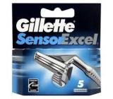 Gillette Sensor Excel náhradné hlavice 5 kusov