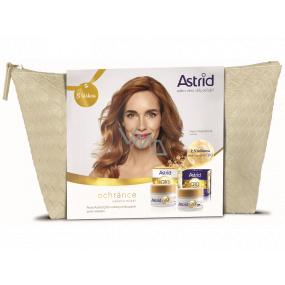 Astrid Q10 Miracle denný krém proti vráskam 50 ml + nočný krém proti vráskam 50 ml + etue, kozmetická sada