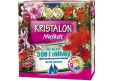 Agro Kristalon Muškát vodorozpustné hnojivo 0,5 kg pro 500 l zálivky