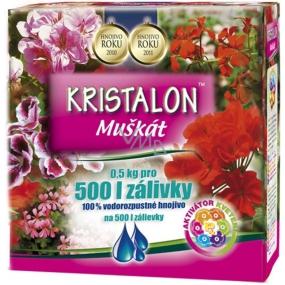 Agro Kristalon Muškát vodorozpustnej hnojivo 0,5 kg pre 500 l zálievky