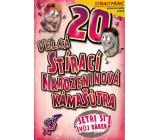 Nekupto Stírací přání k narozeninám Kámašútra 21,5 x 13,5 cm 20 G 20 3336