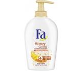 Fa Honey Creme Golden Iris Scent krémové tekuté mýdlo dávkovač 250 ml