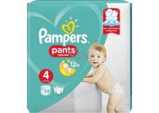 Pampers Pants 4 Maxi 9-15 kg plienkové nohavičky 24 kusov