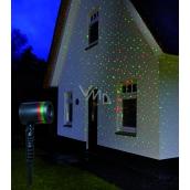 Annas Collection LED laser 4x funkcie obloha - stály, červená / zelená