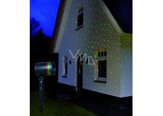 Annas Collection LED laser 4x funkce obloha - stálý, červená/zelená
