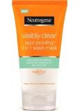 Neutrogena Visibly Clear Spot Proofing 2v1 čistiaca emulzia a maska 150 ml