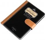 Nekupto Liga Pravých Gentlemanů Luxusní zápisník Opravdový Gentleman za sebe nechává mluvit své činy 10,5 x 15 x 1,5 cm
