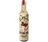 Kitl Syrob Višňový s dužinou sirup pro domácí limonády, obsahuje 100% ovocného podílu 500 ml