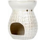 Heart & Home Aromalampa Štvorčeky veľká biela 12,5 cm