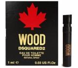 Dsquared2 Wood for Him toaletná voda pre mužov 1 ml s rozprašovačom, vialka