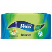 Velvet Balsam papierové vreckovky 3 vrstvové 70 kusov v krabičke
