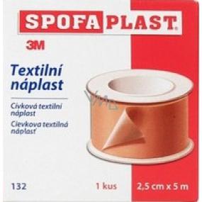 3M Spofaplast 132 cievková textilná náplasť 2,5 cm x 5 m