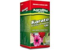AgroBio Karate sa Zeon technológiou 5cs prípravok proti savému a žravému hmyzu 6 ml