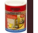 Colorlak Akrylcol Mat V2045 vodouředitelná matná vrchní barva Palisandr 0,6 l