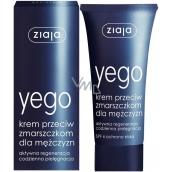 Ziaja Yego Men krém proti vráskam pre mužov 50 ml