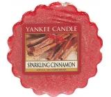 Yankee Candle Sparkling Cinnamon - Trblietavá škorica vonný vosk do aromalampy 22 g