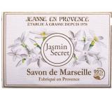 Jeanne en Provence Jasmin Secret - Tajomstvo Jasmínu tuhé toaletné mydlo 100 g