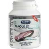 Dr. Clauders Plaque EX Forte znižuje riziko zubného plaku doplnok stravy pre psov 100 g