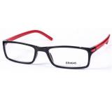 Berkeley Čítacie dioptrické okuliare +3,5 čierne červené stranice 1 kus MC2 ER4045