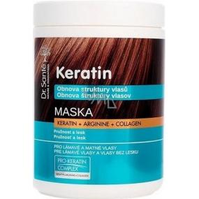 Dr. Santé Keratin Hair maska pre krehké lámavé vlasy bez lesku 1 l