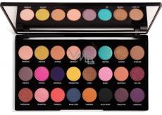Makeup Revolution Creative Vol 1 paletka 24 očných tieňov