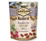 Carnilove Dog Makrely s malinami lahodný chrumkavý maškrta pre všetkých psov pre silnú imunitu 200 g