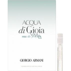 Giorgio Armani Acqua di Gioia toaletná voda pre ženy 1,2 ml s rozprašovačom, vialky