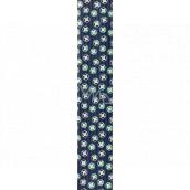 Ditipo Darčekový baliaci papier 70 x 200 cm Modrý s kolieskami